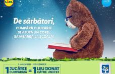 LIDL susține accesul la educație de calitate pentru copiii din medii vulnerabile, printr-o nouă campanie derulată împreună cu UNICEF