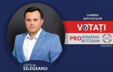 Cătălin Silegeanu: Voi lupta pentru investiții, fonduri și proiecte corecte pentru cetățenii județului Botoșani!