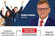 """Marius Budăi: """"Guvernarea PSD va reduce impozitarea muncii pentru creșterea salariilor celor 55.000 de angajați botoșăneni și 4,5 milioane de salariaț"""