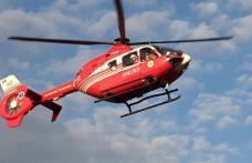 Bărbat din Darabani preluat de urgență de un elicopter SMURD