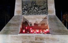 Moment de reculegere și lumânări aprinse la Dorohoi pentru victimele incendiului de la Piatra Neamț
