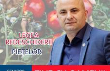 """Lucian Trufin: """"Domnilor liberali vă invit să faceți campanie electorală și în piețele agroalimentare – scuzați - pe lângă piețe că voi le-ați închis!"""