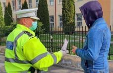 Amenzi pentru cei care refuză să poarte mască: 69 de persoane amendate în ultimele 24 de ore