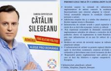 PRO România: Cătălin Silegeanu – Priorități în Camera de Deputaților!