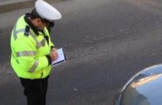 Acțiune a polițiștilor rutieri privind parcarea neregulamentară