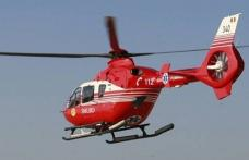 Femeie din Brăești cu traumatism cranian preluată de urgență de elicopterul SMURD