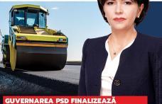 Doina Federovici: Guvernarea PSD finalizează drumurile Botoșani – Târgu Frumos și Botoșani - Ștefănești, așa cum a făcut și Botoșani - Suceava!