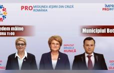 Cătălin Silegeanu: O nouă zi în care ne întâlnim cu botoșănenii dornici de a dialoga cu echipa PRORomania