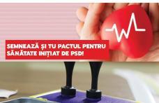 PSD Botoșani a inițiat PETIȚIA SĂNĂTATEA – PRIORITATE NAȚIONALĂ! Semnează și tu