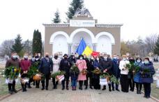 Ziua de 1 Decembrie, ziua dedicată tuturor românilor, nu a trecut neobservată, în actualul context epidemiologic - FOTO
