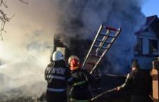 Opt familii afectate de incendii, în ultimele patru zile
