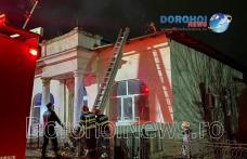 Incendiu la Dorohoi! Un coș de fum necurățat putea genera o tragedie – FOTO