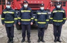 Patru pompieri de la Detașamentul Dorohoi sunt îngerii păzitori ai unui tânăr de 22 de ani - FOTO