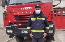 Bărbat inconștient resuscitat de un pompier din Dorohoi, ieșit din tura de serviciu