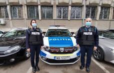 Femeie salvată de doi polițiști din Botoșani, soț și soție