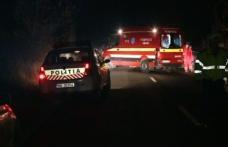 ACCIDENT! Un șofer de 54 de ani a ajuns la spital după ce a pierdut controlul mașinii într-o curbă