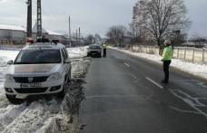 În prag de iarnă, polițiștii din Botoșani vin cu recomandări pentru șoferi