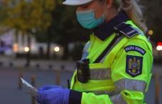 Acțiuni ale polițiștilor pentru prevenirea și limitarea efectelor pandemiei. Peste 200 de sancțiuni aplicate
