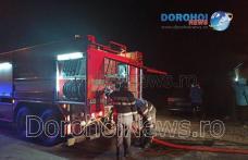 Incendiu puternic la Botoșani. Proprietarul, în vârstă de 40 ani, a fost găsit decedat