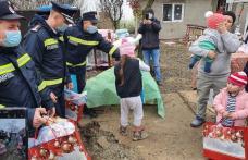 Misiune de suflet a pompierilor dorohoieni, la Dersca - FOTO