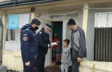 Surpriză pregătită de jandarmi pentru un copil din județul Botoșani