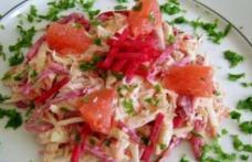Salată din piept de pui cu grapefruit