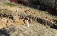 Ordin de începerea lucrărilor pentru consolidarea unui drum județean afectat de alunecări de teren