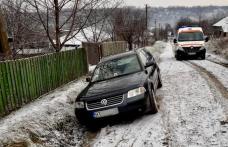 Tragedie la Văculești! Un bărbat și-a pierdut viața după ce a fost strivit de propriul autoturism