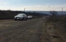 Ordin de începerea lucrărilor pentru consolidarea alunecării de teren de pe drumul județean Dumeni – Havârna - FOTO