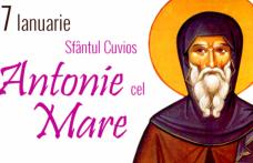 Cui îi spunem La mulți ani pe 17 ianuarie de Sfântul Anton