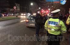 Autorități puse în alertă după o tamponare pe Bulevardul Victoriei din Dorohoi - FOTO