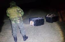 Mii de pachete cu țigări de contrabandă descoperite de polițiștii de frontieră din Dorohoi - FOTO