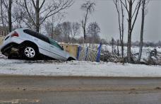 Accident din neatenție. Unul dintre șoferi consumase alcool