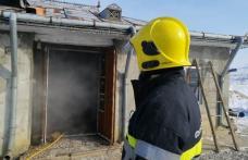 Locuința afectată de un incendiu la Cristești! Atenție la coșurile de fum neprotejate termic față de materialele combustibile!