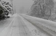 Drumul Județean Coțușca – Mileanca, a fost redat traficului rutier. ATENȚIE! Se circulă în condiții de iarnă