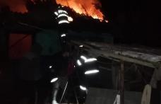 O bătrână și-a pierdut viața într-un incendiu care i-a cuprins locuința - FOTO