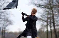 ANM a emis o informare meteorologică de intensificări ale vântului