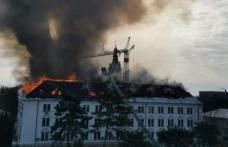 Incendiu la Prefectura Suceava! Pompierii din Botoșani și Dorohoi chemați în sprijin