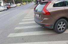 Șoferi amendați în Botoșani pentru oprire neregulamentară în zona trecerilor pentru pietoni