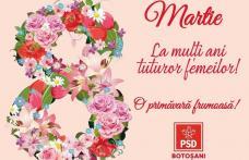 Organizaţia Femeilor Social Democrate din Botoșani - Un 8 Martie altfel - FOTO