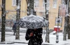 Meteorologii anunță cod galben de ploi și ninsori abundente în Moldova