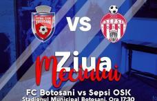 FC Botoșani joacă astăzi, pe municipal, cu Sepsi OSK Sfântu Gheorghe
