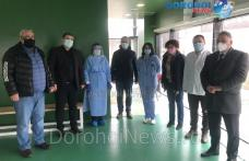 Șefa DSP și prefectul au vizitat centrul de vaccinare din Darabani – FOTO