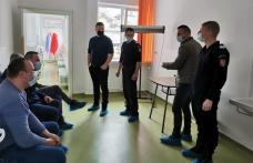 Pompierii din Dorohoi au donat sânge pentru un medic botoșănean - FOTO
