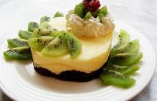 Mini-tort cu kiwi