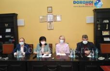 Liderii PSD, Marcel Ciolacu și Gabriela Firea, au ajuns la Botoșani - FOTO