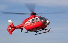 Elicopterul SMURD a fost solicitat la Botoșani pentru o femeie aflată în stare gravă