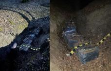 Ţigarete de contrabandă de peste 70.000 de lei, descoperite de polițiștii de frontieră