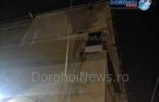 Incendiu izbucnit la un bloc din Darabani – VIDEO / FOTO