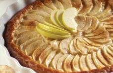 Tartă de mere de post